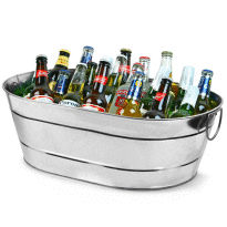 Drinks Tub - Galvanised Steel