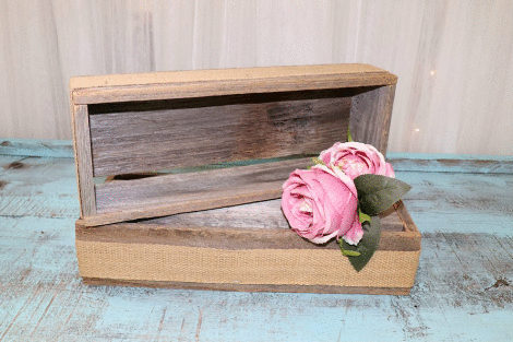 Rustic Riser - Medium Rectangle