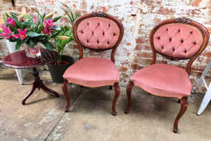 Dusty Pink Chairs