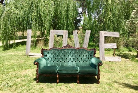 Vintage Couch - Green