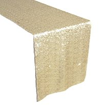 Sequin Table Runner - Champagne