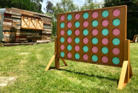 Giant Connect 4 - Wooden