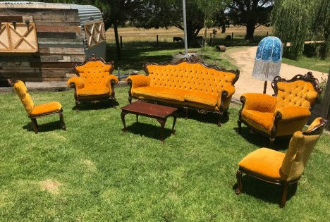 Vintage Furniture - 6 Piece Set
