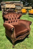 Vintage Brown Armchair