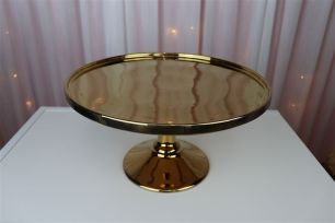 30cm Gold Cake Stand