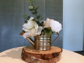 Rustic Gold Watering Can