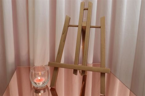 Table-Top Easel - Rose Gold