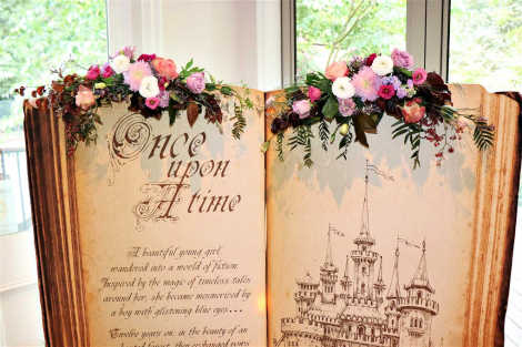Customised Giant Fairy Tale Book