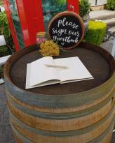 'Please Sign Our Guestbook' Rustic Sign