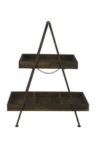 Rustic Food Stand - Two Tier