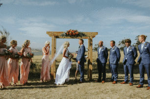 4 Post Rustic Arbour