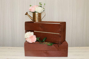 Small Fruit Box - Dark Wood