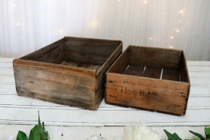 Wooden Fruit Tray - Small