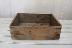 Wooden Fruit Tray - Medium