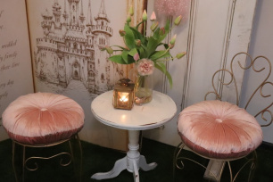 Dusty Pink Cushions