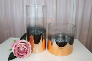 Gold Ombre Cylinder - 26.5cm