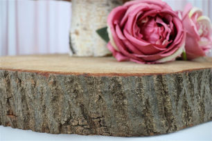 Wood Tree Discs - Rough Redgum