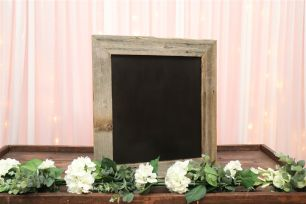 Rustic Frame Blackboard - Medium