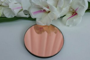 Small Rose Gold Mirror Coaster