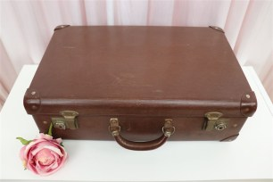 Vintage Suitcase - Large Brown