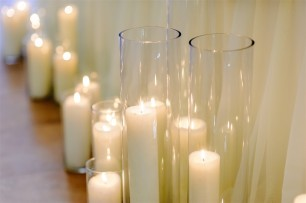 Glass Vase & Candle Package - Medium (30)