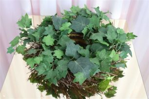 Rustic Green Wreath - Small