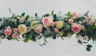 Silk Flowers for Arbour - Melissa