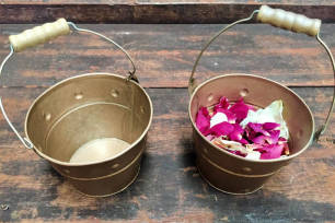 Flower Girl Buckets - Copper